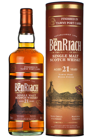 beriach 21 year old, tawny port casks,