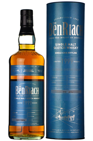 benriach 1999, 16 year old, single cask 5043, batch 13,