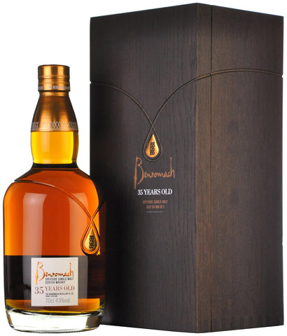 benromach 35 year old, speyside single malt scotch whisky,