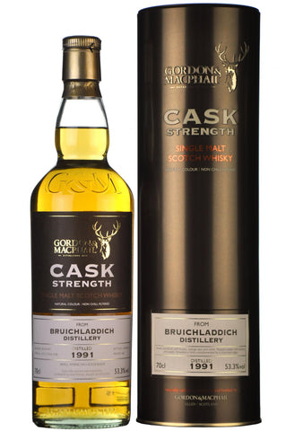 bruichladdich 1991 bottled 2015 cask strength gordon and macphail