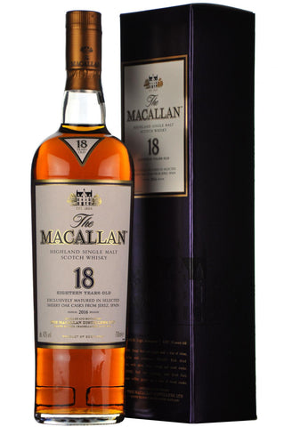 macallan 18 year old, annual release 2016,