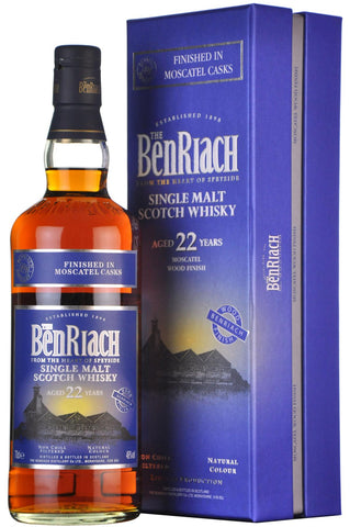 beriach 22 year old, finished moscatel casks,