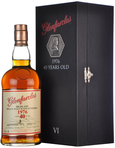 glenfarclas 1976, family collectors series 6, refill sherry butt,