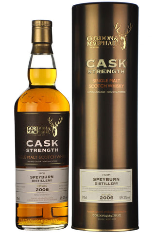 Speyburn 2006 bottled 2016 cask strength gordon and macphail