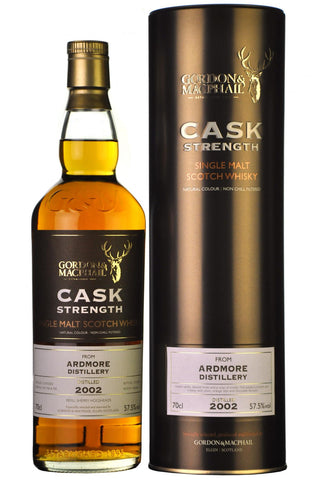 Ardmore 2002 bottled 2016 cask strength gordon and macphail
