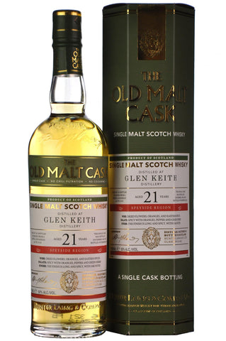 Glen Keith 1995-2016 | 21 Year Old | Old Malt Cask 13125