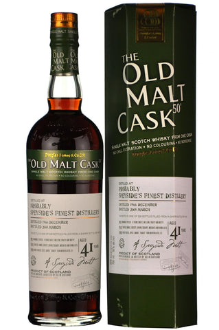 Probably Speysides Finest 1966-2008 | 41 Year Old | Old Malt Cask 4191