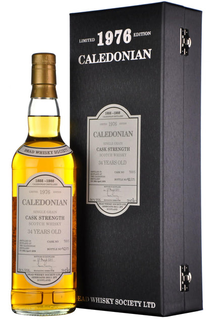 Caledonian 1976-2011 | 34 Year Old Dead Whisky Society