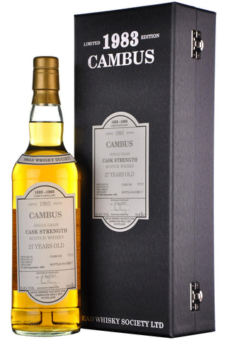 Cambus 1983-2011 | 27 Year Old | Dead Whisky Society Single Cask 701513