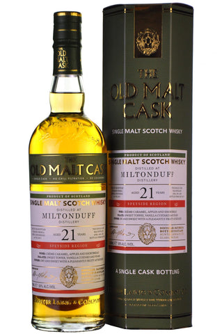 Miltonduff 1995-2017 | 21 Year Old | Old Malt Cask 13271