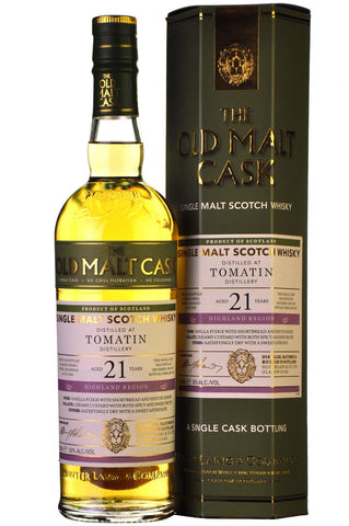 Tomatin 1995-2017 | 21 Year Old | Old Malt Cask 13268