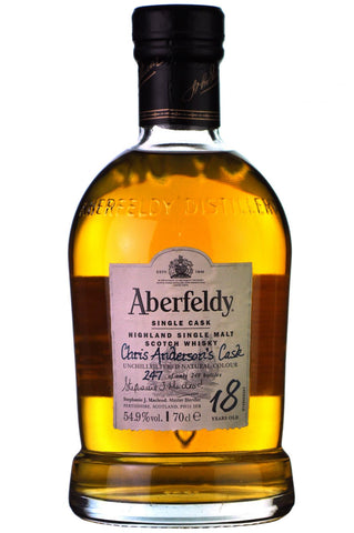 Aberfeldy 18 Year Old | Distillery Only Single Cask