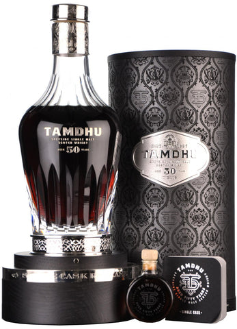 tamdhu 1963 50 year old one of 100 bottles from a first fill european oak sherry butt