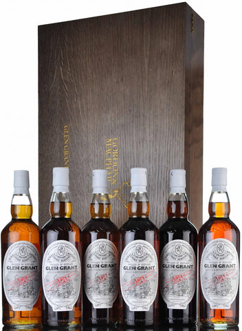Gordon & MacPhail, Glen Grant, Collection 2017, Speyside Single Malt Scotch Whisky, 1950, 1951, 1952, 1953, 1954, 1955,