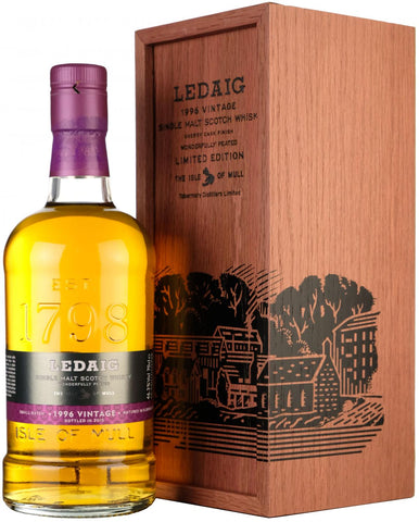 ledaig 1996, bottled 2015, small batch, oloroso casks,