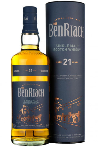 beriach 21 year old, speyside single malt scotch whisky,