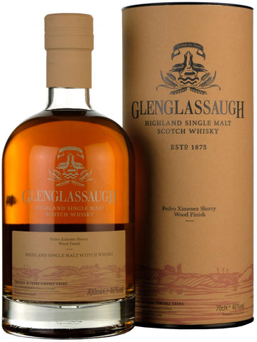 glenglassaugh finished in pedro ximenez sherry casks