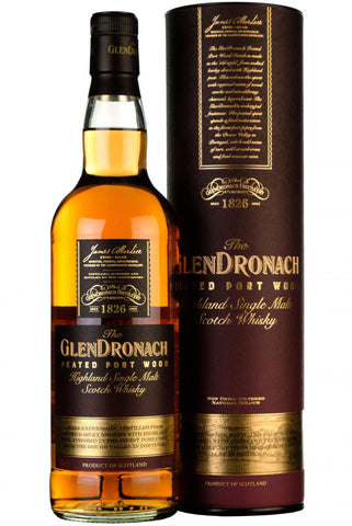 glendronach finished in peated port wood