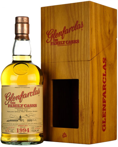 glenfarclas 1994, the family cask 4319, speyside single malt scotch whisky