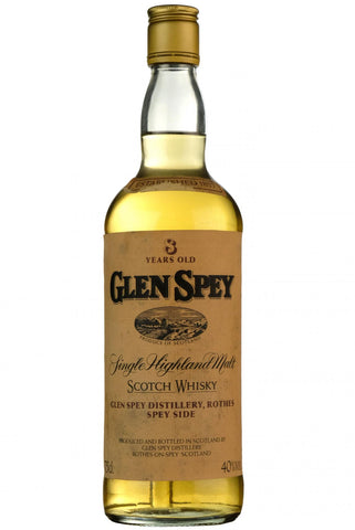 glen spey 8 year old, bottled 1980s,