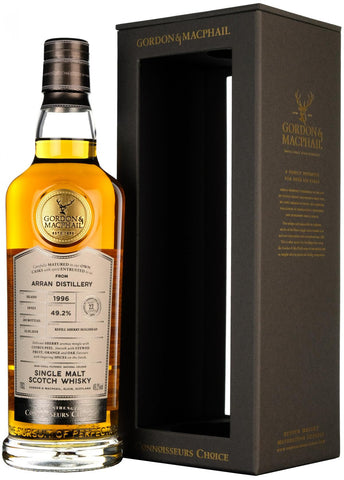 arran 1996, 22 year old, connoisseurs choice, cask strength, gordon and macphail whisky,
