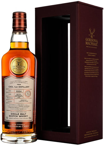 Caol Ila 2004, Connoisseurs Choice, Gordon And MacPhail Whisky,
