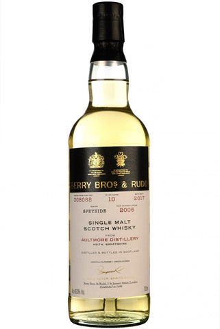aultmore, 2006, bottled 2017, 10 year old, single cask 308088, berry bros & rudd,