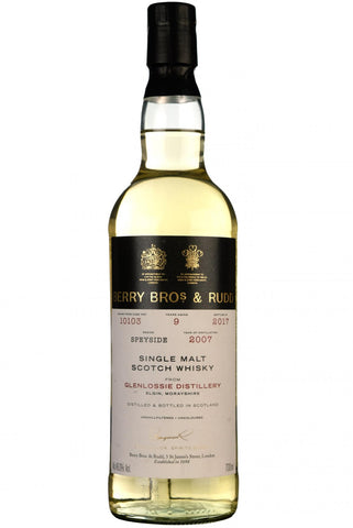 glenlossie, 2007, bottled 2017, 9 year old, single cask 10103, berry bros & rudd,