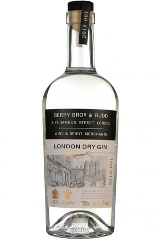 berry bros london dry gin, by berry bros & rudd