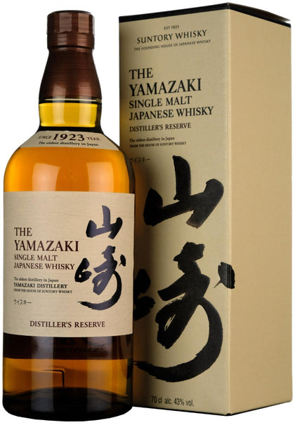 Yamazaki Distillers Reserve Single Malt Japanese Whisky