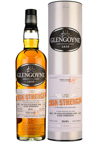 glengoyne cask strength batch 006 highland single malt scotch whisky whiskey