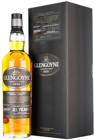 glengoyne 21 year old highland single malt scotch whisky whiskey