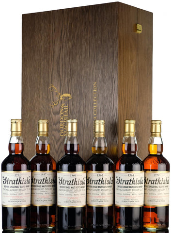 Gordon & MacPhail, Strathisla, Rare, Vintage, Collection 2018, Speyside Single Malt Scotch Whisky, 1954, 1957, 1960, 1963, 1964, 1972,