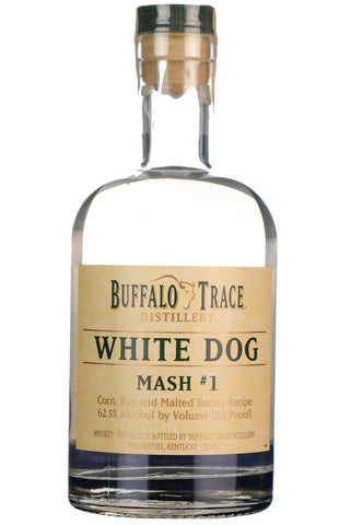 buffalo trace white dog mash #1 kentucky straight bourbon whiskey whisky america