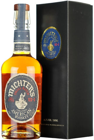 michters small batch unblended us number 1 one, kentucky america american whiskey