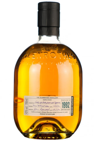glenrothes 1992 bottled 2005 speyside single malt scotch whisky whiskey
