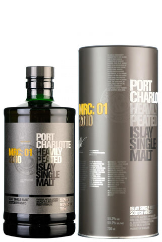 port charlotte mrc 01 2010 heavily peated islay single malt scotch whisky whiskey bruichladdich