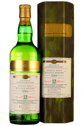 2006 laphroaig 12 year old single cask old malt cask 20th anniversary hunter laing islay single malt scotch whisky
