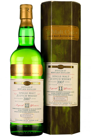 2007 mortlach 11 year old single cask old malt cask 20th anniversary hunter laing speyside single malt scotch whisky