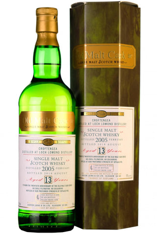 loch lomond distillery 2005 croftengea 13 year old single cask old malt cask 20th anniversary hunter laing highland single malt scotch whisky