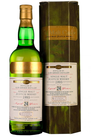 glengarioch 1993 24 year old single cask old malt cask 20th anniversary hunter laing highland single malt scotch whisky
