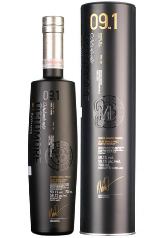 edition 09.1 octomore 5 year old single bruichladdich super heavily peated islay single malt scotch whisky