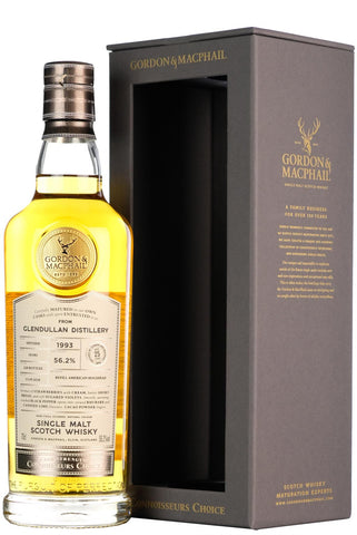 glendullan 25 year old connoisseurs choice gordon and macphail cask strength single cask speyside single malt scotch whisky