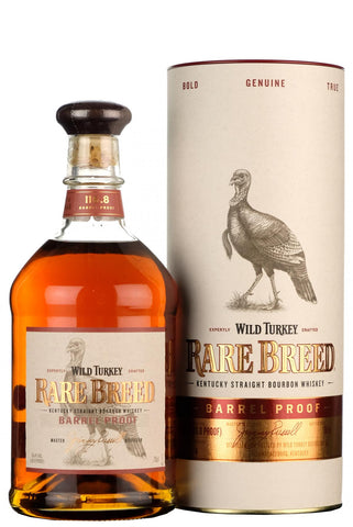 wild turkey rare breed barrel proof kentucky straight bourbon american whiskey 116.8 proof