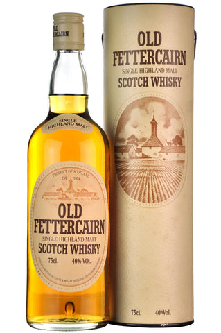 old fettercairn 1980s, highland single malt scotch whisky