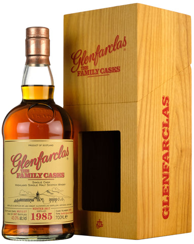 Glenfarclas 1985-2017 | 32 Year Old The Family Cask 2594
