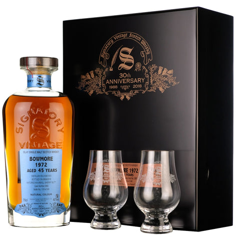 Bowmore 1972-2018 | 45 Year Old | Signatory Vintage 30th Anniversary