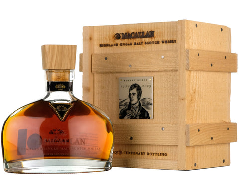 Macallan Robert Burns Decanter