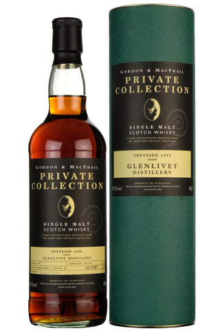 Glenlivet 1959-2009 | 50 Year Old Gordon & MacPhail Private Collection