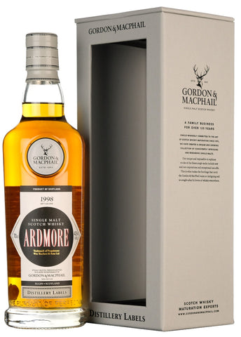 Ardmore 1998-2018 Distillery Labels